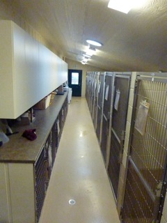 Temperature controlled indoor kennels